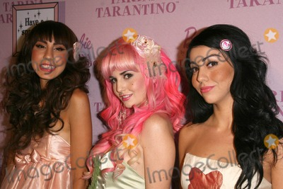 Audrey Kitching Photo - Anna Estella with Audrey Kitching and Grecia Valarie at the Pink Plastic Party of the Year celebrating the launch of the Tarina Tarantino Barbie Doll Tarina Tarantino Los Angeles CA 07-17-08