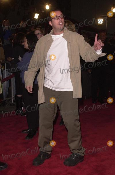 Adam Sandler Photo -  Adam Sandler at the premiere of New Line Cinemas Little Nicky in Hollywood 11-02-00