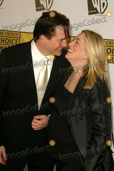 Afton Smith Photo - Brendan Fraser and Afton Smithat the 11th Annual Critics Choice Awards Santa Monica Civic Auditorium Santa Monica CA 01-09-06