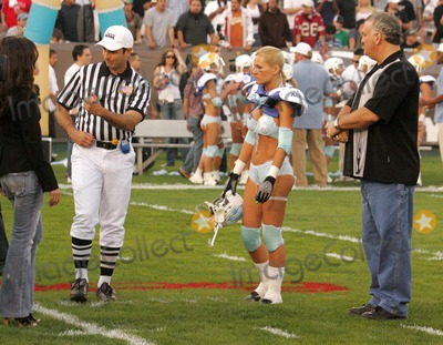 Amy Fisher Photo - Amy Fisher with Katie Lohmann and Joey Buttafuocoat the Bodogcom Lingerie Bowl 2006 LA Memorial Coliseum Los Angeles CA 02-05-06