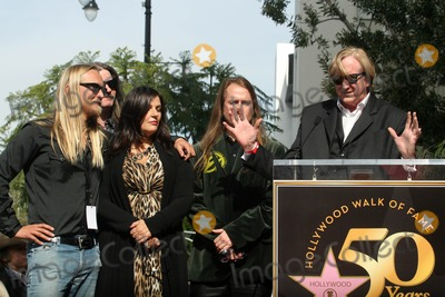 Alex Orbison Photo - Barbara Orbison Wesley Orbison Alex Orbison Roy Orbison Jr T-Bone Burnett at the induction ceremony for Roy Orbison  into the Hollywood Walk of Fame Hollywood CA 01-29-10