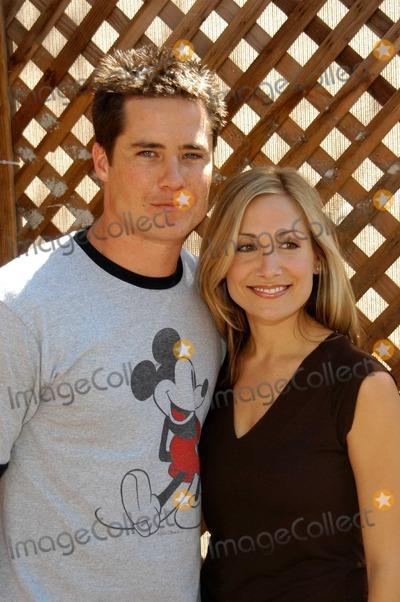 Andrew Firestone Photo - Andrew Firestone and fiance Jennifer at the ABC Primetime Preview Weekend Disneys California Adventure Anaheim CA 09-06-03