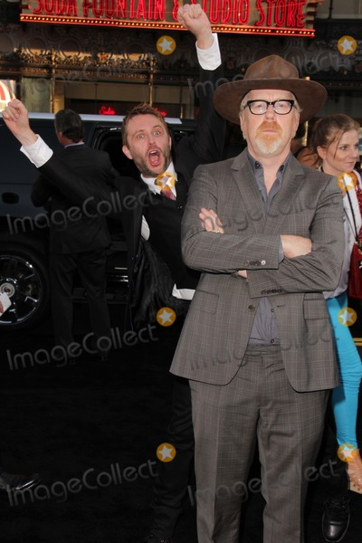 Adam Savage Photo - Chris Hardwick Adam Savageat the Pacific Rim Los Angeles Premiere Dolby Theater Hollywood CA 07-09-13