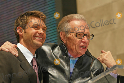 Larry King Photo - Ryan Seacrest and Larry Kingat the Ryan Seacrest Honored with a Star on the Hollywood Walk Of Fame Hollywood Blvd Hollywood CA 04-20-05