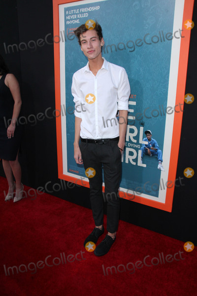 Jack Baran Photo - Jack Baranat the Me and Earl and the Dying Girl Los Angeles Premiere Harmony Gold Theater Los Angeles CA 06-03-15