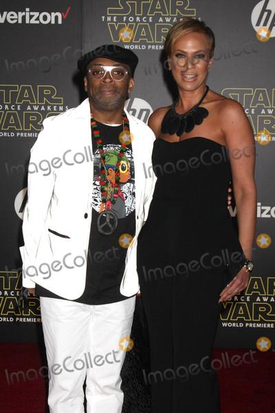 Tonya Lewis Lee Photo - Spike Lee Tonya Lewis Leeat the Star Wars The Force Awakens World Premiere El Capitan Hollywood CA 12-14-15