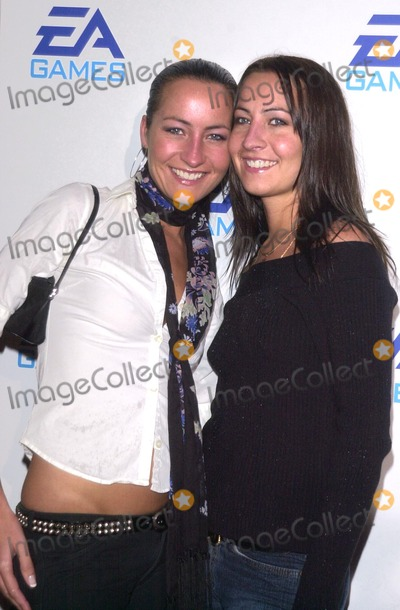 Teena Collins Photo - Nikki and Teena Collins at the launch party for EA Games new Harry Potter Lord of the Rings and James Bond video games Raleigh Studios Hollywood CA 11-07-02