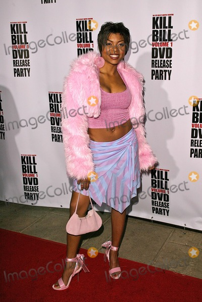 Taraji P Henson Photo - Taraji P Henson at the Kill Bill Vol 1 Video Release Party at the Playboy Mansion Beverly Hills CA 04-12-04