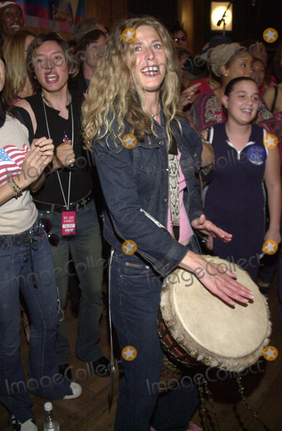 911 Photo -  SOPHIE B HAWKINS at the celebrity recording of We Are Family to benefit the victims of New Yorks 9-11 tragedy 09-23-01