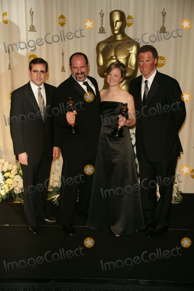 Howard Berger Photo - Steve Carell and Howard Berger with Tami Lane and Will Ferrellin the press room at the 78th Annual Academy Awards Kodak Theatre Hollywood CA 03-05-06