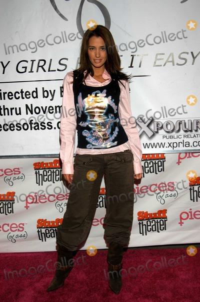 Amy Weber Photo - Amy Weber at Stuff Magazine Hosts a Girls Night Out at The Los Angeles Production of Pieces (Of Ass) Raleigh Studios Hollywood Calif 11-13-03
