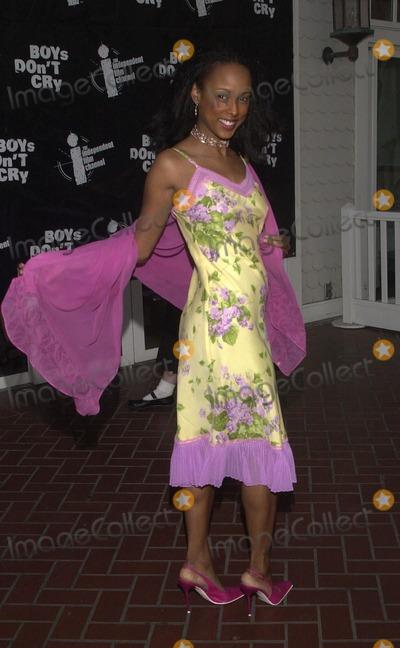 Trina McGee Davis Photo -  Trina McGee-Davis at the Boys Dont Cry Pre-Oscar Party in Santa Monica 03-25-00