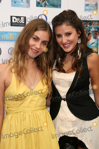 Caitlin Wachs Photo - Caitlin Wachs and Zoe Myers at a screening of Beneath the Blue at the Hollywood Film Festival Arclight Hollywood CA 10-23-10