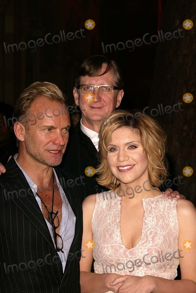 Alison Krauss Photo - StingT-Bone Burnett and Alison Krauss at a celebration of the words and music of Cold Mountain Royce Hall UCLA Los Angeles CA 12-08-03