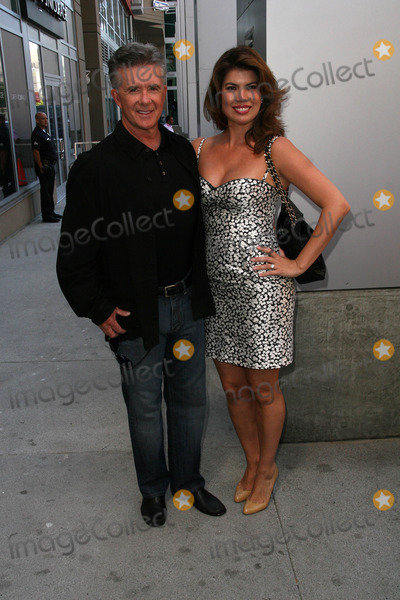 Bill Maher Photo - Alan Thicke and wife Tanyaat the induction ceremony for Bill Maher into the Hollywood Walk of Fame Hollywood CA 09-14-10