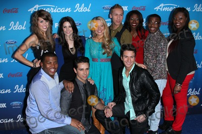 Amber Holcomb Photo - Angie Miller Kree Harrison Janelle Arthur Devin Velez Amber Holcomb Burnell Taylor Candice Glover Curtis Finch Jr Lazaro Arbos Paul Jolleyat the American Idol Finalists Party The Grove Los Angeles CA  03-07-13