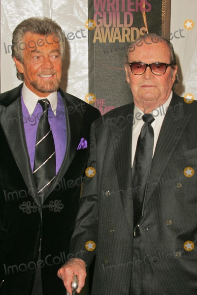 Stephen JCannell Photo - Stephen J Cannell and James Garnerin the press room at the 2006 Writers Guild Awards Hollywood Palladium Hollywood CA 02-04-06
