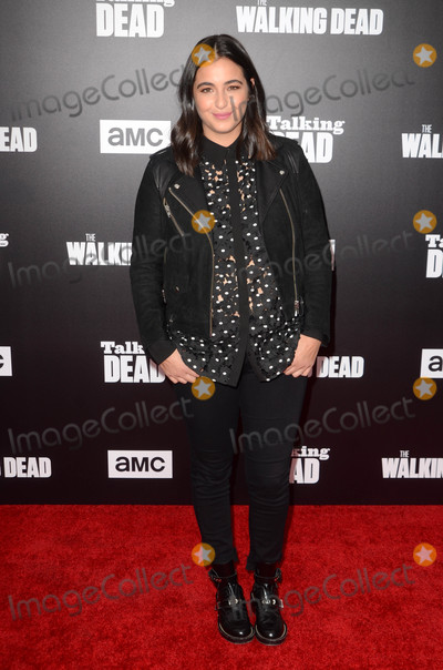Alanna Masterson Photo - Alanna Mastersonat AMCs Special Edition of Talking Dead Hollywood Forever Cemetery Los Angeles CA 10-23-16