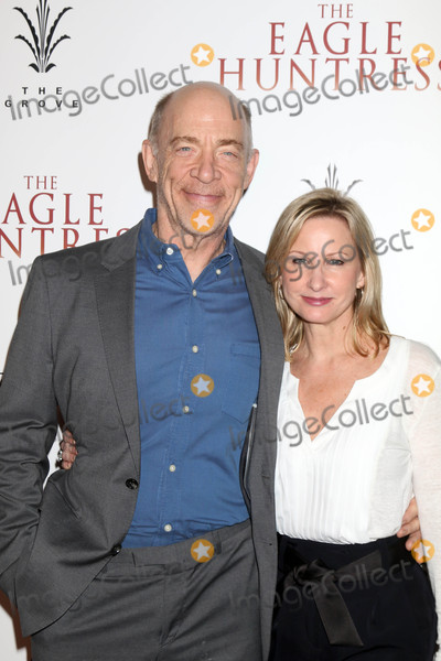J K Simmons Photo - J K Simmons Michelle Schumacherat the The Eagle Huntress Premiere Pacific Theaters at the Grove Los Angeles CA 10-18-16