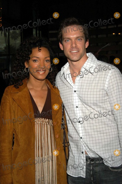 Adam Harrington Photo - Karen Holness and Adam Harrington at Showtimes Screening of New Series Out of Order Directors Guild of America Los Angeles Calif 05-27-03
