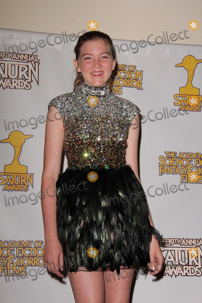 Abigail Hargrove Photo - Abigail Hargroveat the 39th Annual Saturn Awards Press Room The Castaway Burbank CA 06-26-13