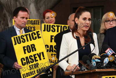 Casey Kasem Photo - Kerri Kasemat Casey Kasems Family Press Conference Stanley Mosk Courthouse Los Angeles CA 01-30-15