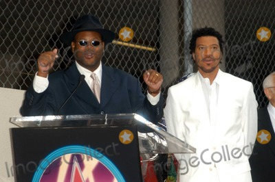 Jimmy Jam Photo - Jimmy Jam and Lionel Richie at Richies induction ceremony into the Hollywood Walk of Fame Hollywood CA 06-20-03