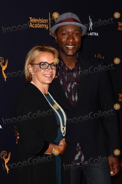 Aloe Blacc Photo - Gabrielle Carteris Aloe Blaccat the Television Academy and SAG-AFTRA Host 4th Annual Dynamic  Diverse Celebration Saban Media Center North Hollywood CA 08-25-16
