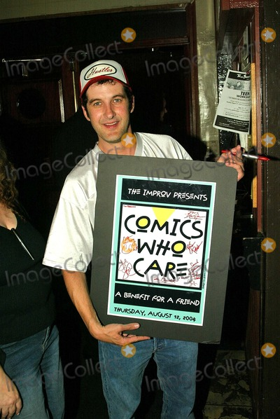 Anthony Clark Photo - Anthony Clark at Comics Who Care a charitable assemblage of comics to benefit their own in need  LA Improv Los Angeles CA 08-12-04