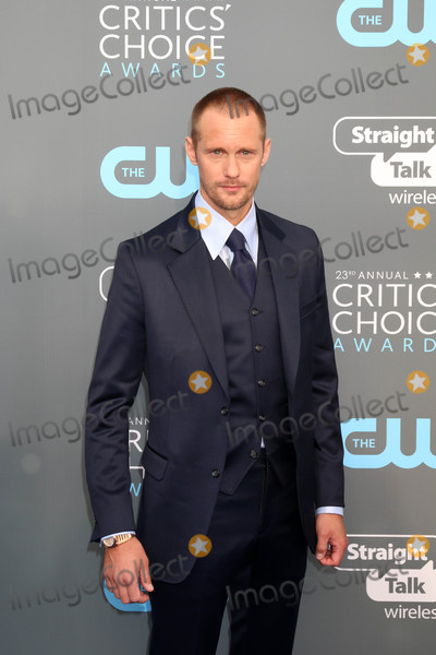 Alexander Skarsgard Photo - Alexander Skarsgard at the 23rd Annual Critics Choice Awards Barker Hanger Santa Monica CA 01-11-18