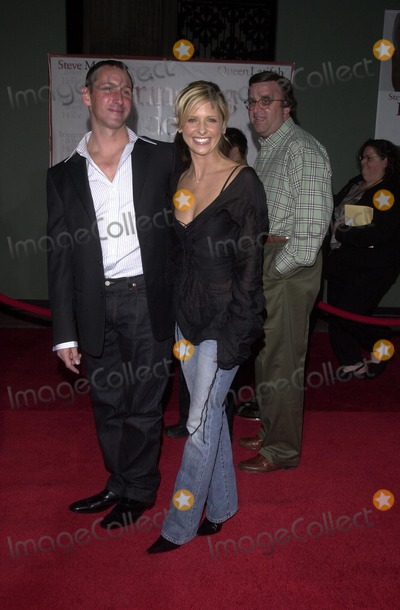 Adam Shankman Photo - Sarah Michelle Gellar and Adam Shankman at the Touchstone Pictures Premiere of Bringing Down the House El Capitan Theatre Hollywood CA 03-02-03