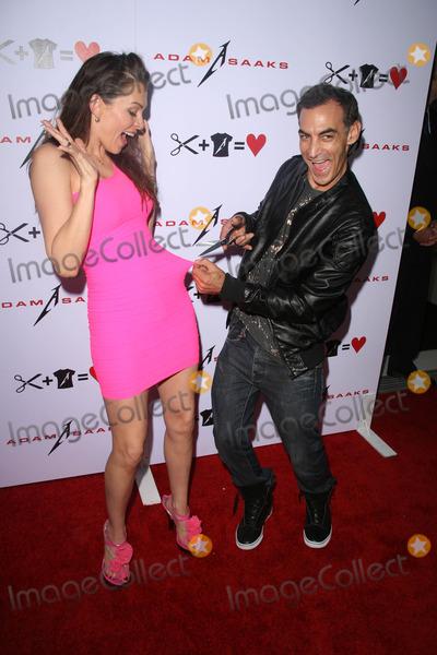 Adam Saaks Photo - Alicia Arden and Adam Saaks at the Adam Saaks Flagship Store Opening Adam Saaks Store Los Angeles CA 10-10-10