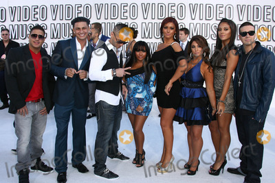 Angelina Pivarnick Photo - Ronnie Magro Mike TheSorrentino Pauley Del Vecchio Nicole Polizzi Jenni Farley Angelina Pivarnick Sammi Giancola and Vinny Guadagnino at the 2010 MTV Video Music Awards Nokia Theatre LA LIVE Los Angeles CA 08-12-10
