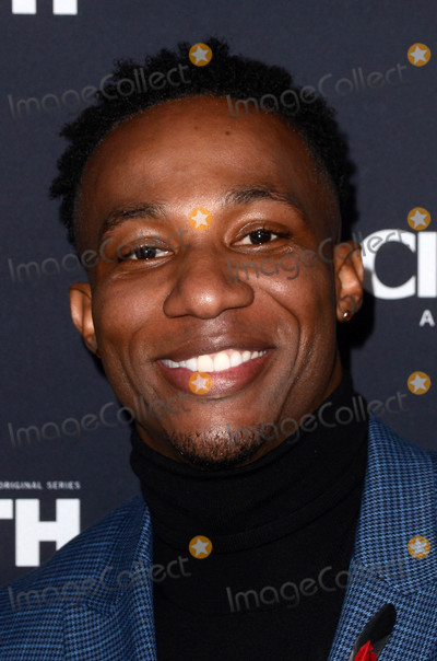 Arlen Escarpeta Photo - Arlen Escarpetaat The Oath Red Carpet Premiere Event Sony Studios Culver City CA 03-07-18