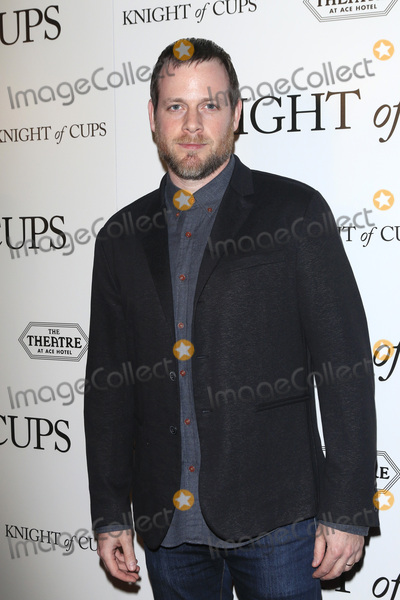 Adam Salky Photo - LOS ANGELES - MAR 1  Adam Salky at the Knight of Cups Premiere at the The Theatre at The ACE Hotel on March 1 2016 in Los Angeles CA