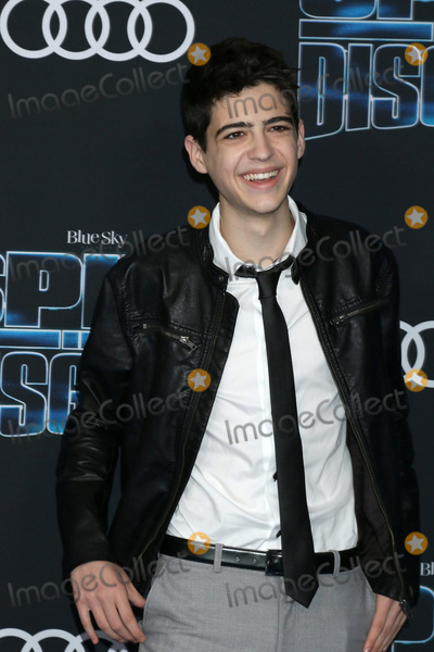Rush Photo - LOS ANGELES - DEC 4  Joshua Rush at the Spies in Disguise Premiere at El Capitan Theater on December 4 2019 in Los Angeles CA
