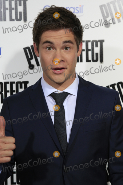 Adam DeVine Photo - LOS ANGELES - SEP 24  Adam DeVine arrives at the Pitch Perfect Premiere at ArcLight Cinemas on September 24 2012 in Los Angeles CA