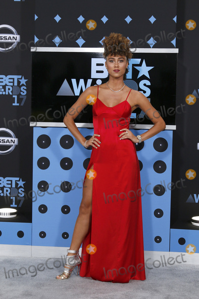 Ally Love Photo - LOS ANGELES - JUN 25  Ally Love at the BET Awards 2017 at the Microsoft Theater on June 25 2017 in Los Angeles CA