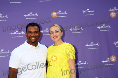Alfonso Ribeiro Photo - LOS ANGELES - JUL 30  Alfonso Ribeiro Angela Unkrich at the Gabrielle Union Hosts the Launch Party for Hallmarks Put It Into Words Campaign at The Lombardi House on July 30 2018 in Los Angeles CA