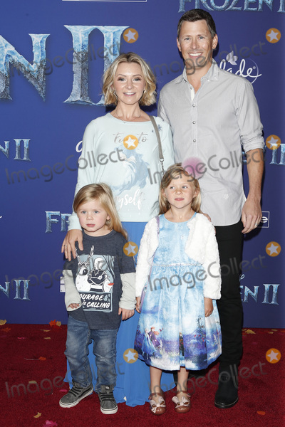 Beverley Mitchell Photo - LOS ANGELES - NOV 7  Beverley Mitchell Michael Cameron Hutton Michael Cameron and Kenzie Cameron at the Frozen 2  LA Premiere at the Dolby Theater on November 7 2019 in Los Angeles CA