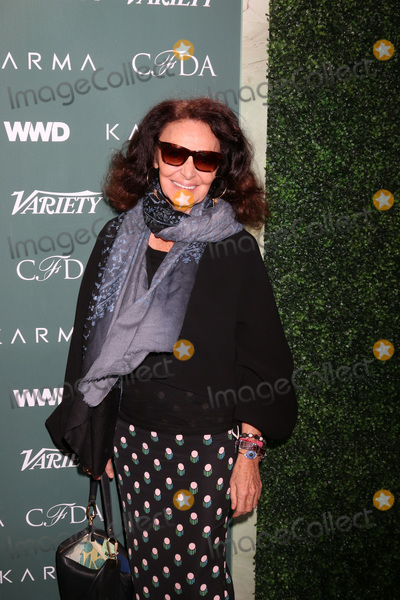 Diane Von Furstenberg Photo - LOS ANGELES - FEB 20  Diane Von Furstenberg at the CFDA Variety and WWD Runway to Red Carpet at Chateau Marmont Hotel on February 20 2018 in West Hollywood CA