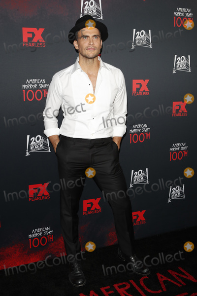 Cheyenne Jackson Photo - LOS ANGELES - OCT 26  Cheyenne Jackson at the American Horror Story 100th Episode Celebration at the Hollywood Forever Cemetary on October 26 2019 in Los Angeles CA