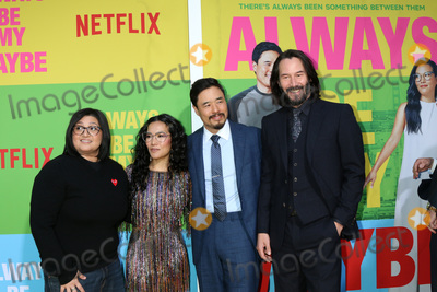 Ali Wong Photo - LOS ANGELES - MAY 22  Nahnatchka Khan Ali Wong Randall Park Keanu Reeves at the Always Be My Maybe Premiere at the Village Theater on May 22 2019 in Westwood CA