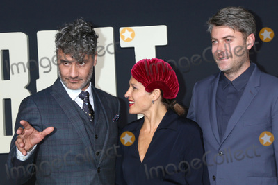 Carthew Neal Photo - LOS ANGELES - OCT 15  Taika Waititi Chelsea Winstanley Carthew Neal at the Jojo Rabbit Premiere at the American Legion Post 43 on October 15 2019 in Los Angeles CA