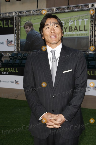 Hideki Matsui Photo - LOS ANGELES - SEP 19  Hideki Matsui arrives at the Moneyball World Premiere at Paramount Theater of the Arts on September 19 2011 in Oakland CA