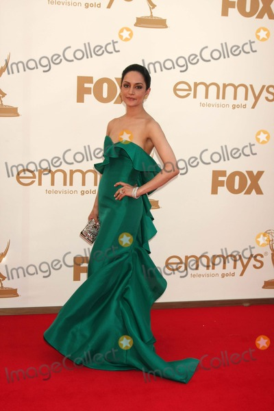 Archie Panjabi Photo - LOS ANGELES - SEP 18  Archie Panjabi arriving at the 63rd Primetime Emmy Awards at Nokia Theater on September 18 2011 in Los Angeles CA