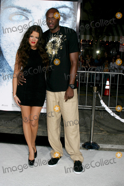 Lamar Odom Photo - Khloe Kardashian  Lamar Odom  arriving at the Whiteout Premiere at the Manns Village Theater in Westwood CA on September 9 2009
