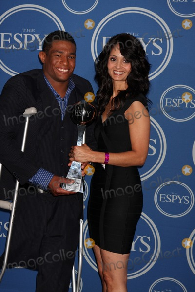 Anthony Robles Photo - LOS ANGELES - JUL 13  Anthony Robles Mother  in the Press Room of the 2011 ESPY Awards at Nokia Theater at LA Live on July 13 2011 in Los Angeles CA