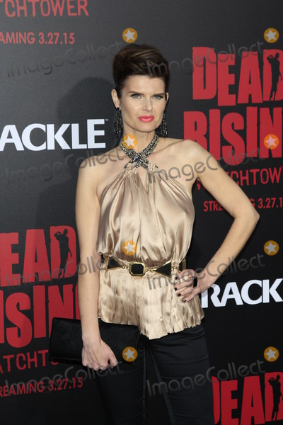 Kim Novak Photo - LOS ANGELES - MAR 11  Carrie Genzel at the Dead Rising Watchtower World Premiere at the Kim Novak Theater Sony Studios on March 11 2015 in Culver City CA