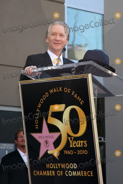Bill Maher Photo - LOS ANGELES - SEP 14  Bill Maher at the Bill Maher Hollywood Walk of Fame Star Ceremony at Hollywood Walk of Fame on September 14 2010 in Los Angeles CA